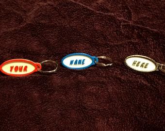 Custom Personalized Key Chain