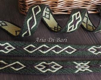 Tablet weaving trim, Mammen pattern, viking, medieval, reenactment, sca, larp