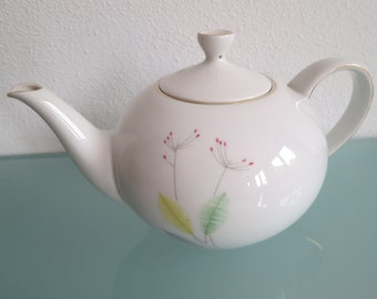 Teapot and six cups and saucers - Arzberg