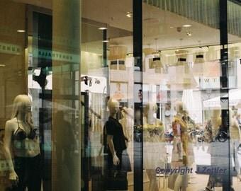 Reflections - Shop Windows, Fine Art Photography, Print