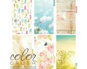 SALE! Be Happy, Be Bright - Color Crush Personal Planner Divider Set Kit