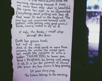 Poem: Sometimes the Earth // NOTESONTHEWAY