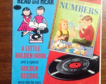 Numbers, a Little Golden Book Record, Numbers, a Little Golden Book Record, 45 RPM