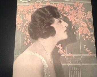 "Vintage Rare ""Saturday"" Sheet Music, Lyrics by Sidney D. Mitchell"