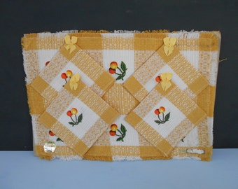 Vintage Tablemats and Napkins / Serviettes NOS Made in Japan 1960's