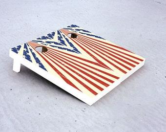 Star Spangled Custom Cornhole Boards