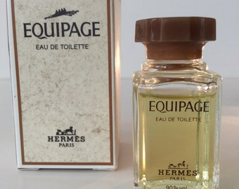 "Perfume Mini ""Equipage"" by Hermes 10 ml. Made in France."