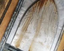 Vintage Tin Roof Shingles, Vintage Ceiling Tiles, Tin Tiles, Backsplash, Kitchen Decor, Bathroom Decor, antique ceiling tile