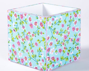 Wooden box with decoupage - summer time
