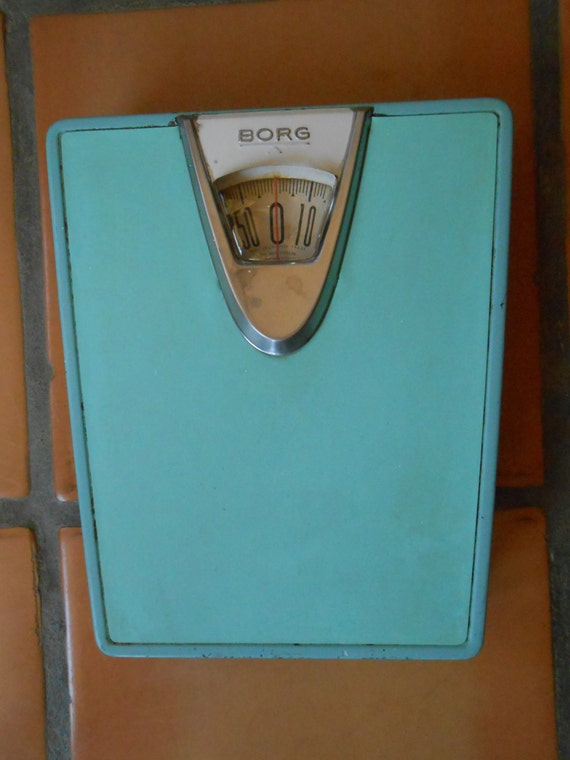 Bathroom scale early 1950s borg erickson corp pat nos for Borg bathroom scale