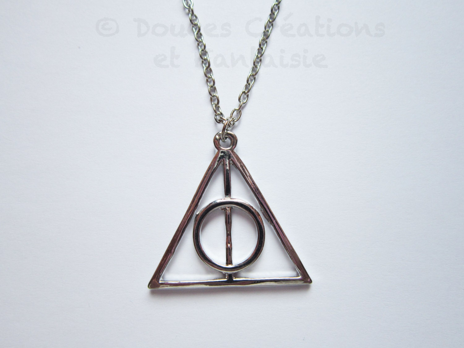 deathly hallows necklace harry potter jewelry by