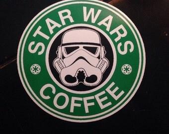 Star Wars Coffee Decal