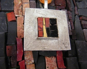 Pendants large mosaic