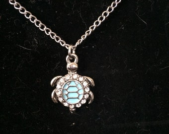 Turtle Love Necklace