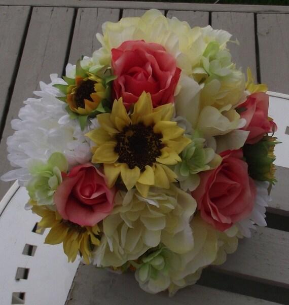 Fiori Matrimonio Girasoli : Matrimonio girasoli fiori bouquet rustico da