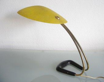 Rare Mid Century Modern Carl AUBÖCK Table LAMP Light Austria Vienna 1950s