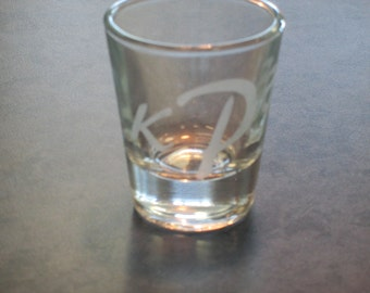 Personalized Shot Glass Wedding Favours