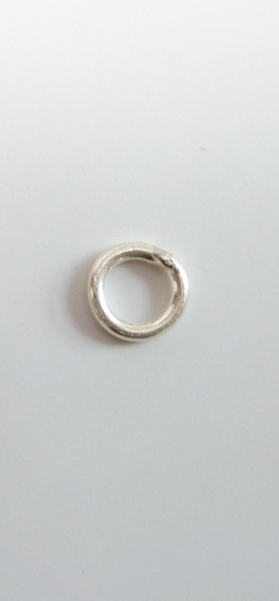 925 solid sterling silver jump rings closed 7 mm price for