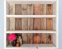 Rustic Wood Shelves - Local Cornish Timber & Reclaimed Wood