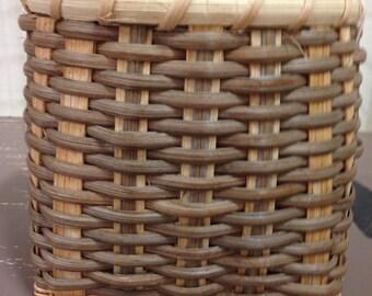 Square to Round Basket