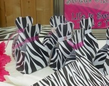 Diva Party, Diva Birthday, Animal Print Party, Animal Print Birthday, Diva Goody Box-Diva Favor Box- Printable Party, Diva Goody Dress