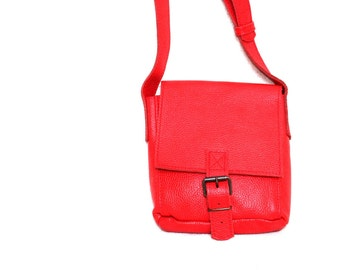 Leather bag 'School A6'