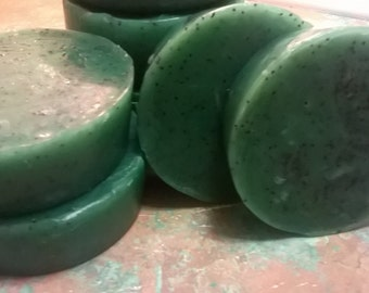 Eucalyptus  Seaweed Soap Rounds