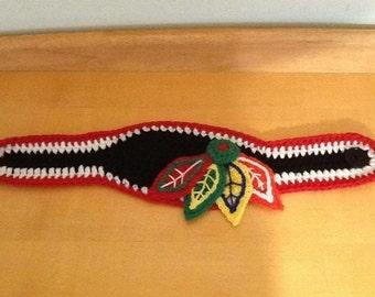 Chicago BLACKHAWKS Ear Warmer Headband child teen adult