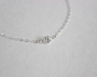 Sterling Silver CZ Bracelet