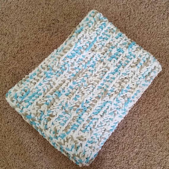 Crochet Chenille Baby Blanket Pattern : Chenille Baby Blanket, Crochet Blanket, Baby Shower Gift ...