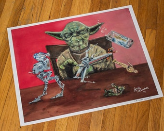 Play With Me You Will 16x20 Print