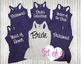 Image Gallery Bridesmaid T Shirts