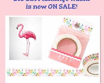ON SALE: Flamingo Die Cut Washi
