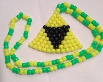 Kandi Triforce Necklace