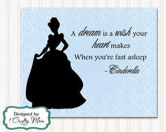Disney Princess Silhouette Etsy