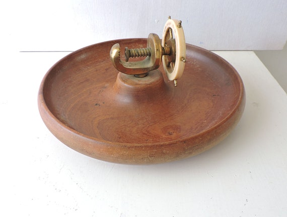 Wooden nuts bowl nuts cracker vintage wooden bowls for nuts stump nut