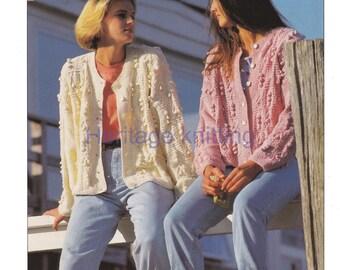 womens jackets aran knitting pattern 99p pdf