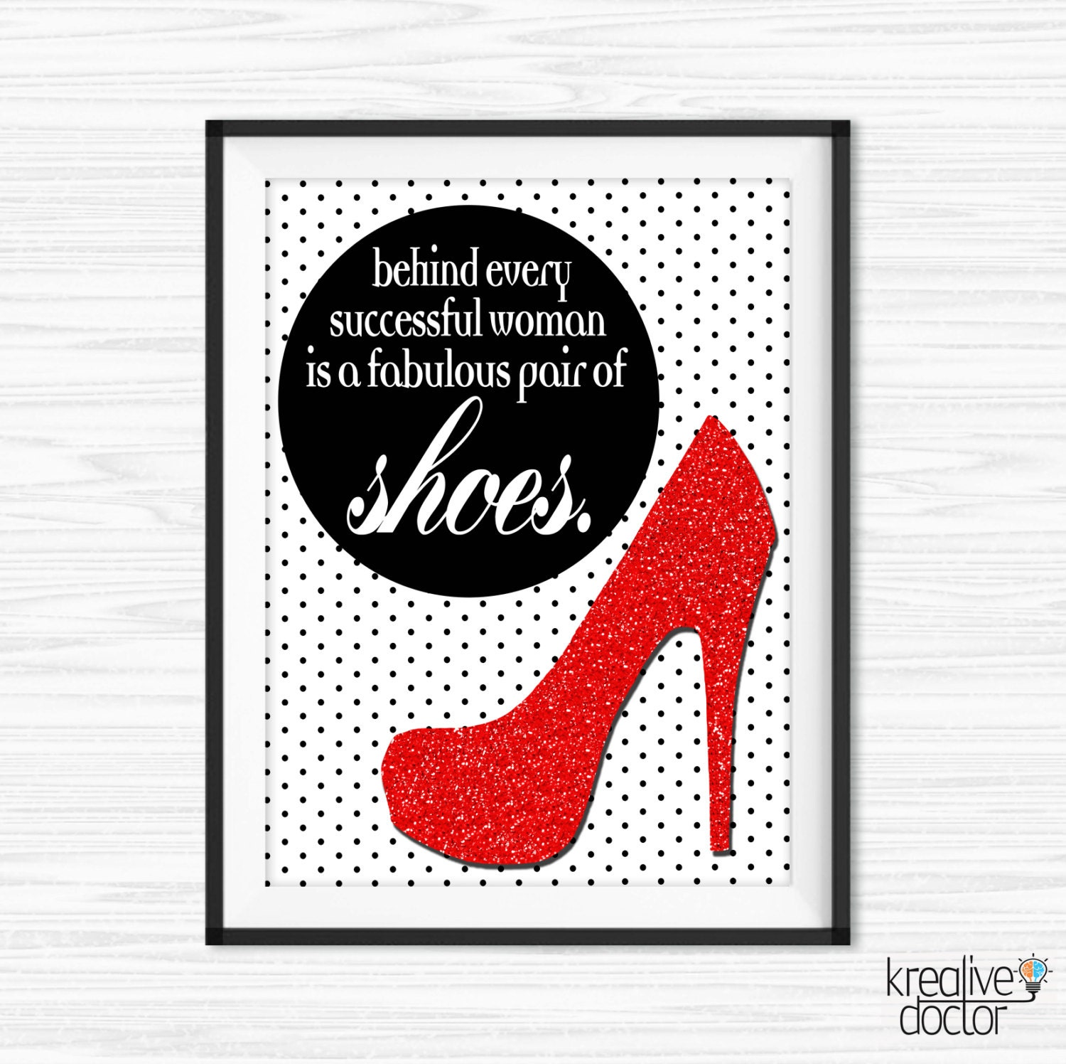Quotes About Shoes And Friendship: Printable Shoe Wall Art Canvas Quotes Shoe Quotes For Office