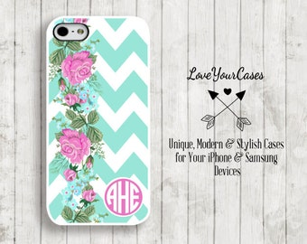 iPhone 6s Case, iPhone 6s Plus Case, iPhone 6 Case, iPhone 6 Plus Case, iPhone 5s Case, iPhone 5c Case, Monogram Phone Case Personalized 977