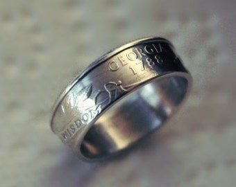 Silver State Quarter Ring