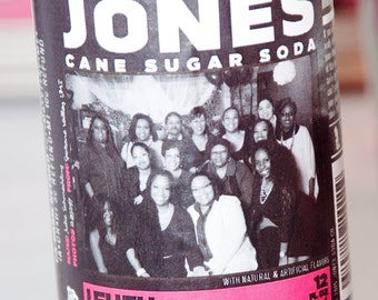 Jones Soda Labels
