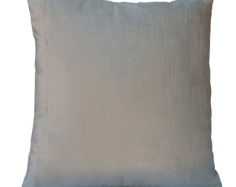 light warm grey silver pillow throw pillow cover decorative pillow cover cushion