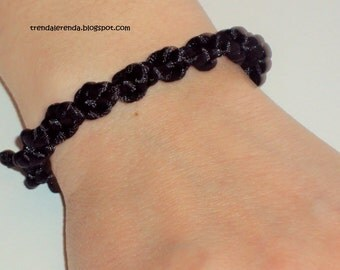 Macrame in loop Friendship Bracelet