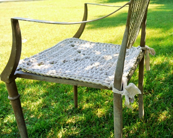 Chair cushions reversed for sstewart2b - Chaise tissu couleur ...