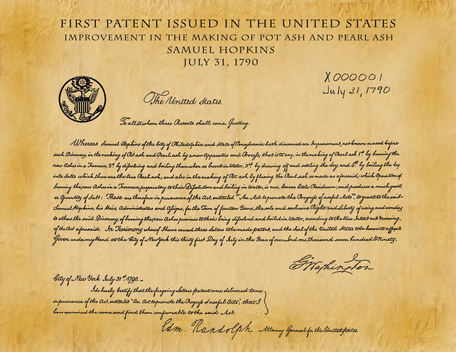 history of the united states patent He landed the patent just two months before the whiskey excise act became law,  history 10 things we learned about kim jong-un from his classmates.