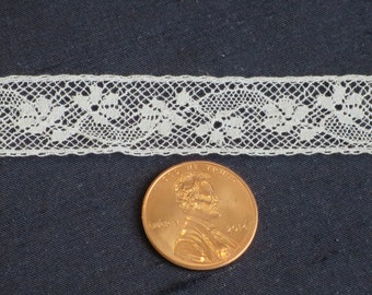 French Lace Insertion, Heirloom Supply, Heirloom Lace, Lingerie Lace, #898