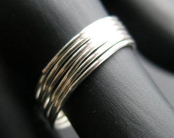 Stacking ring, Sterling Silver