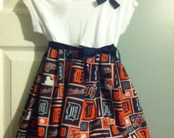 Detroit Tigers girls dress