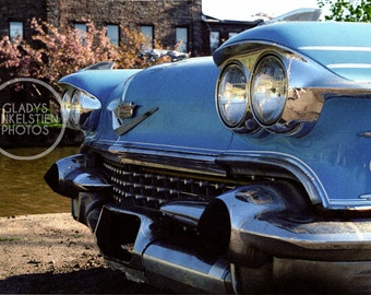 Old Cadillac Front
