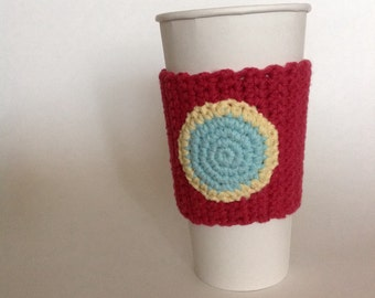 Iron man Cup sleeve or cozy